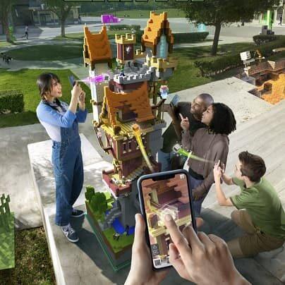 Minecraft Earth w AR