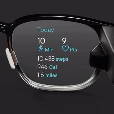 North Focals Google Fit