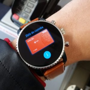 Google Pay Wear OS terminal