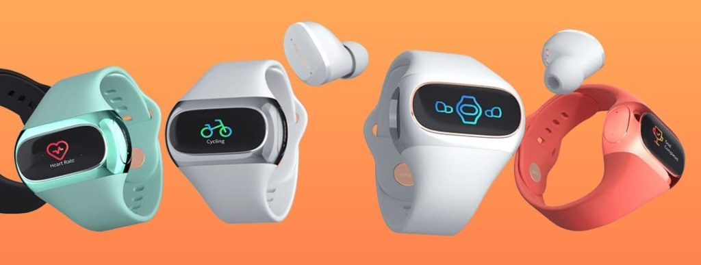 Airpower Wearbuds - słuchawki w bransoletce