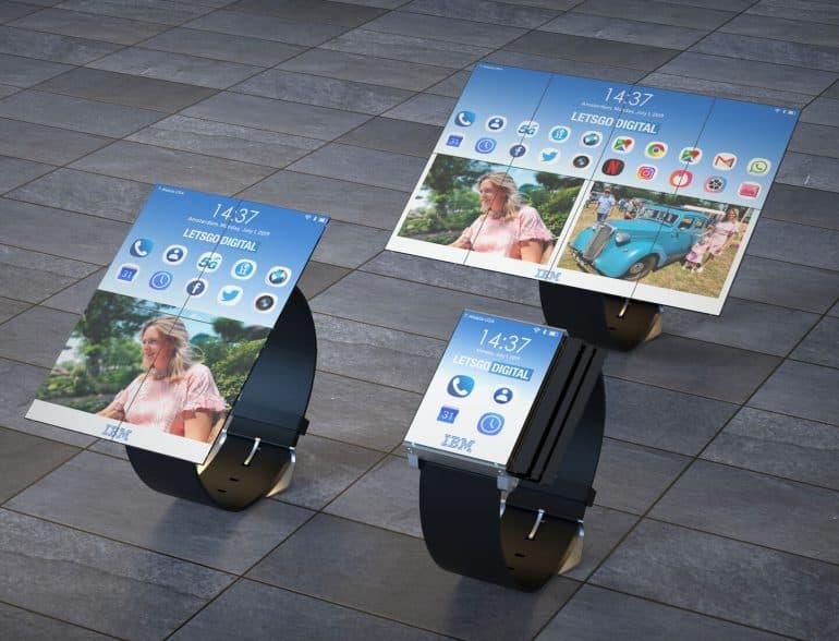 IBM patent smartwatch