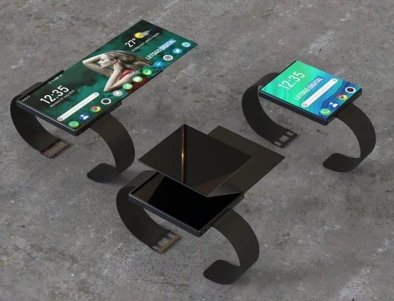 Składany smartwatch Oppo
