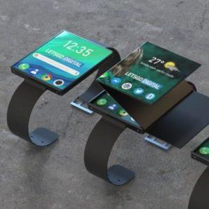 Składany smartwatch Oppo (2)