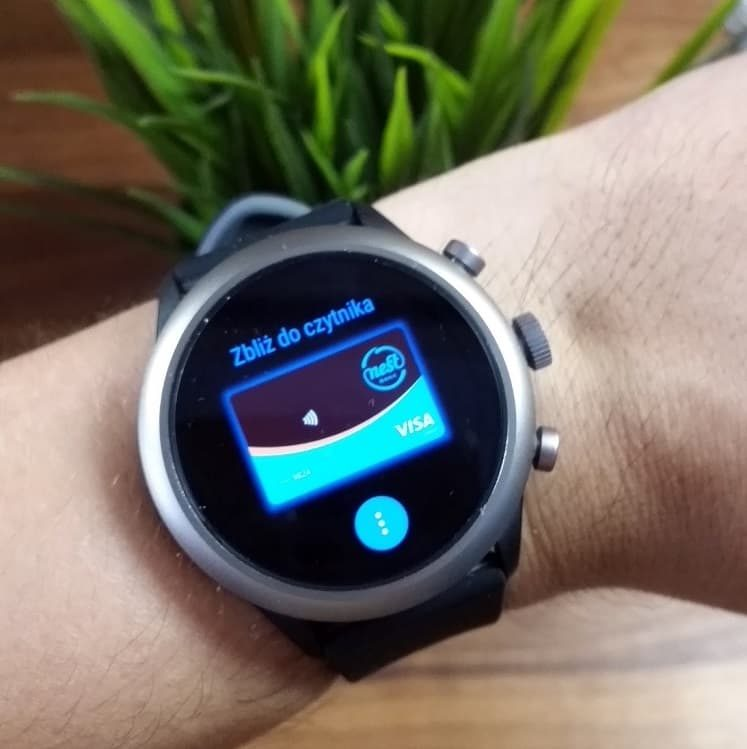 Fossil Sport Google Pay