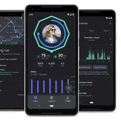 Google Fit ze śledzeniem snu