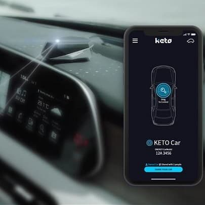 Keto - smartfon dostępem do auta