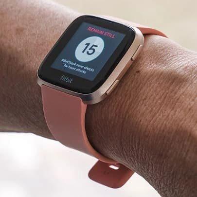 FibriCheck aplikacja wykrywająca migotanie przedsionków przez zegarki Fitbit