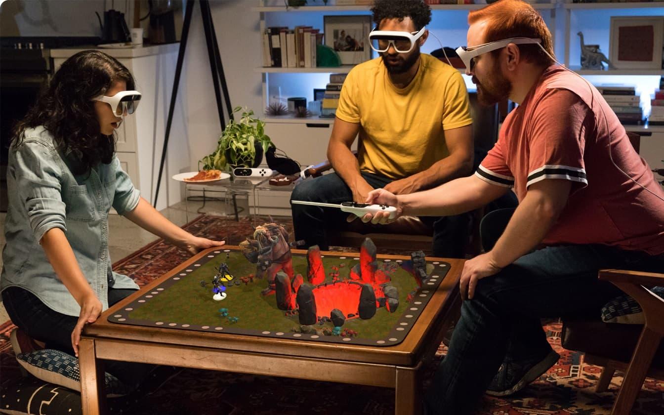 Tilt Five holograficzne gry