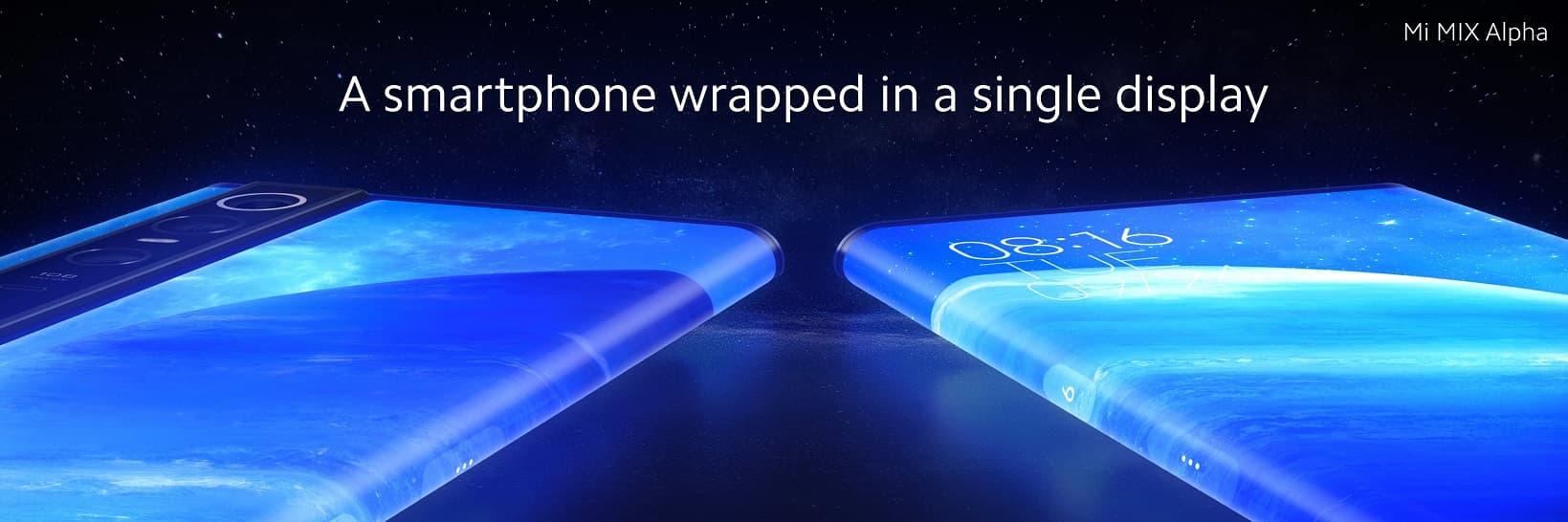 Xiaomi Mi Mix Alpha ekran 180.6%