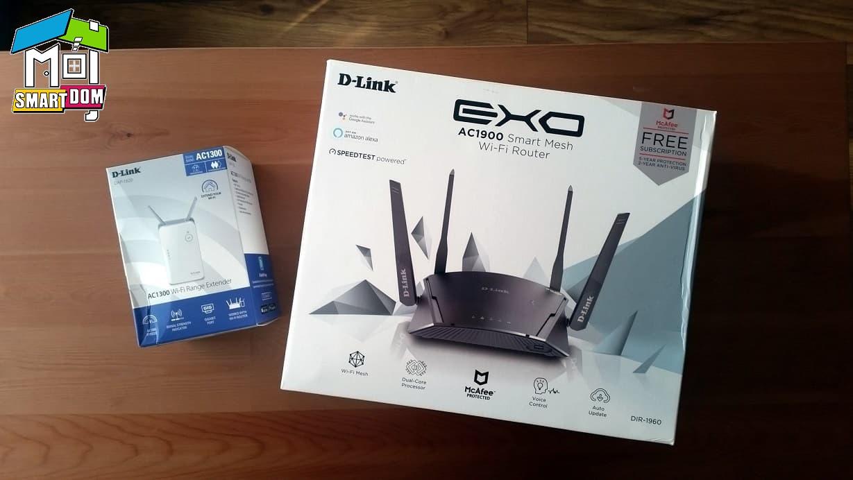 D-link mesh router EXO i węzeł DAP-1620