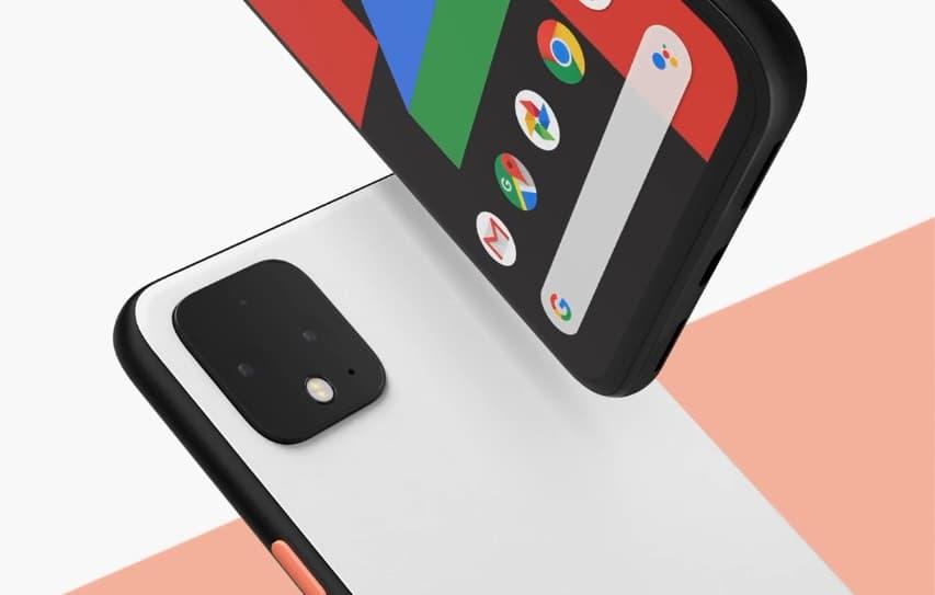 Google Pixel 4 z radarem Soli