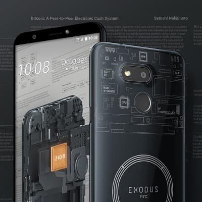 HTC Exodus 1s pełen węzeł BTC