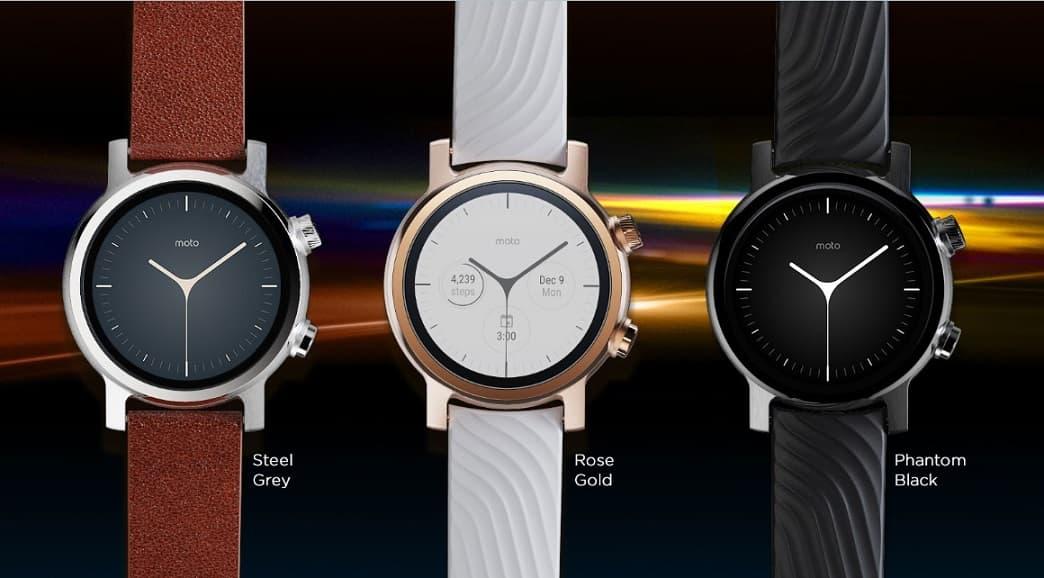 smartwatch Moto 360 z Wear OS