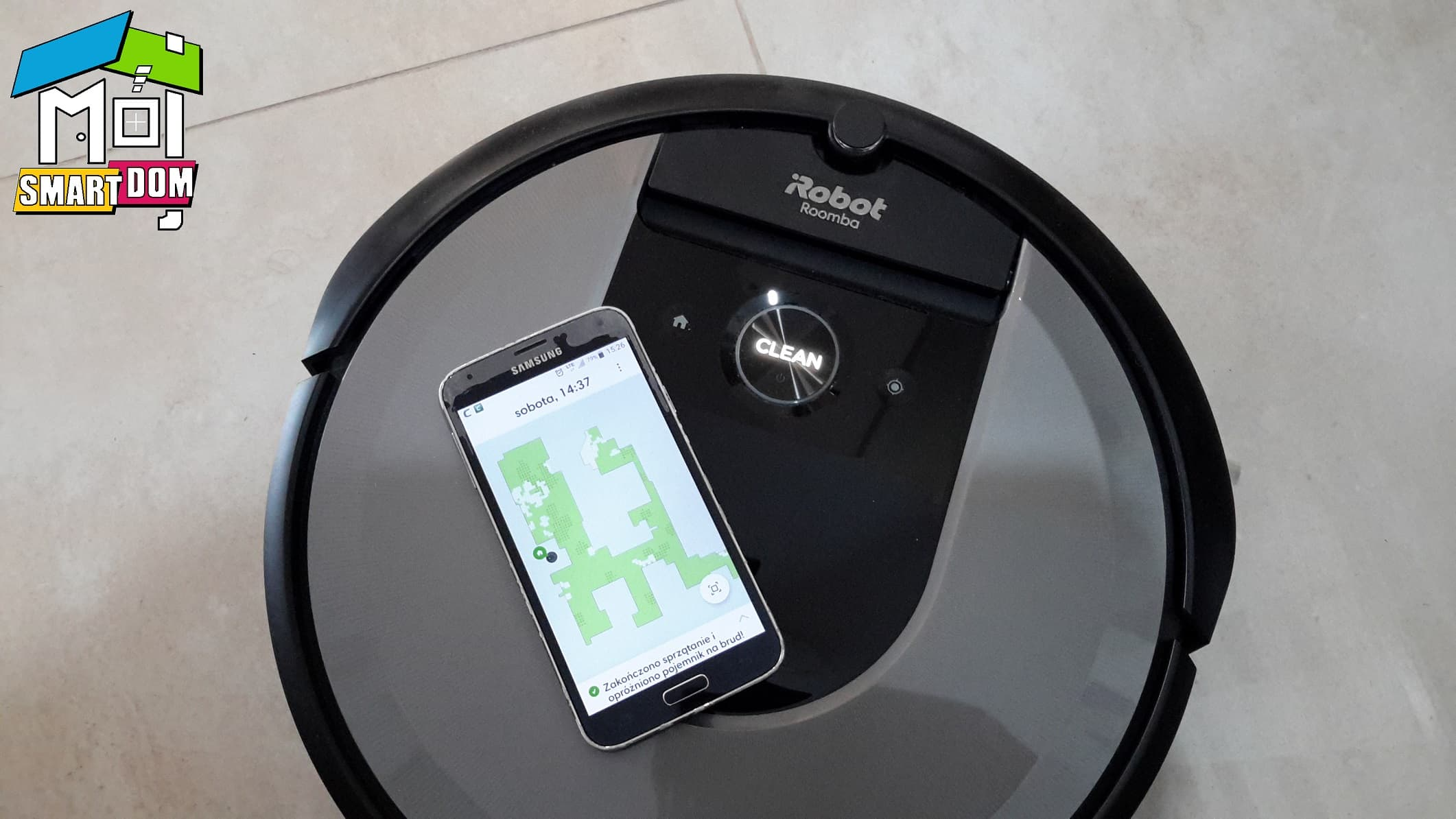 Roomba i7 aplikacja smartfon