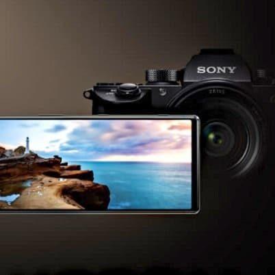 Sony Xperia 1 Professional Edition z ekranem D65