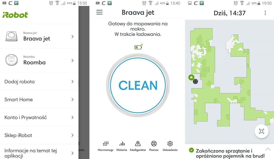 aplikacja iRobot Home