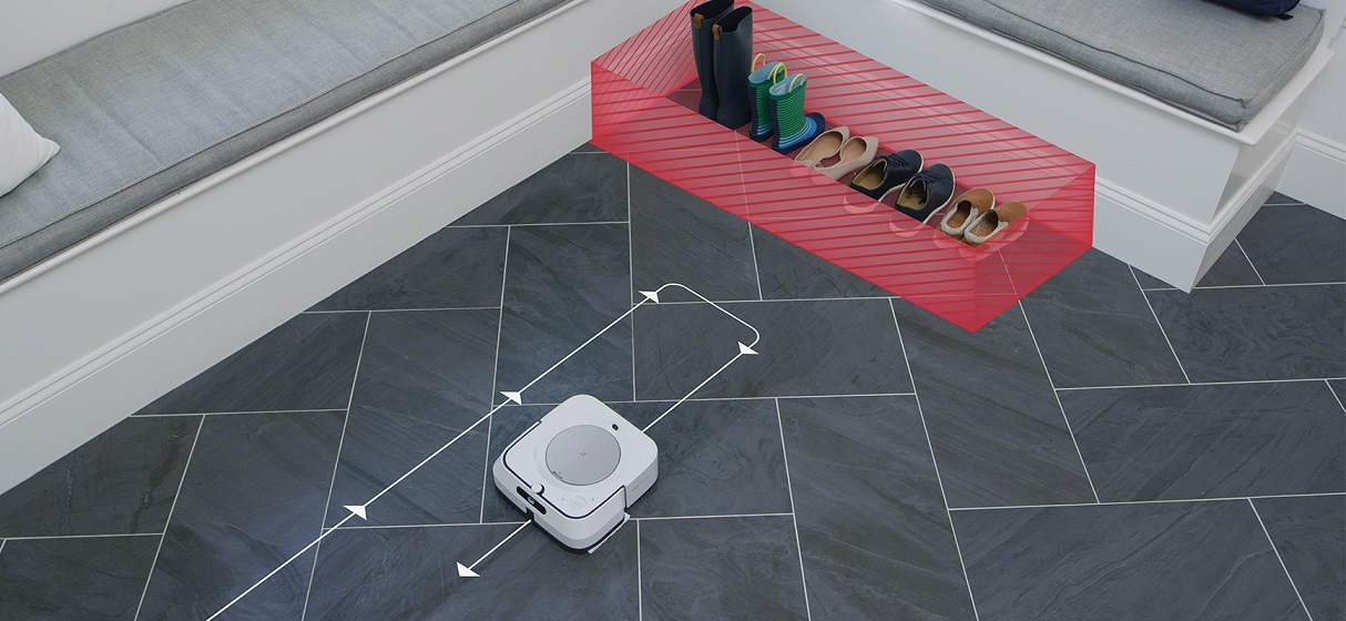 iRobot Keep Out Zones Braava jet M6