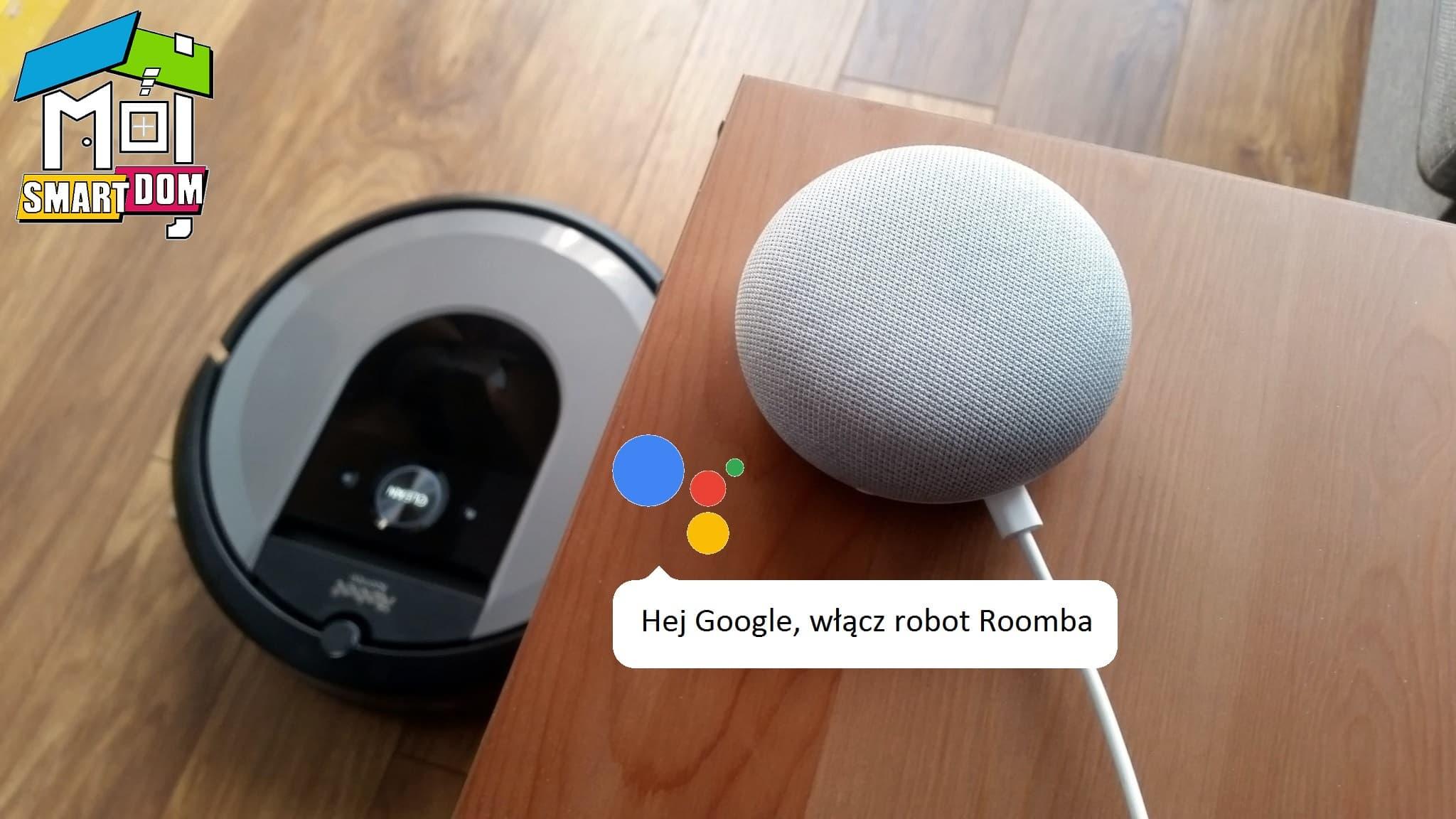 iRobot Roomba i7 Asystent Google