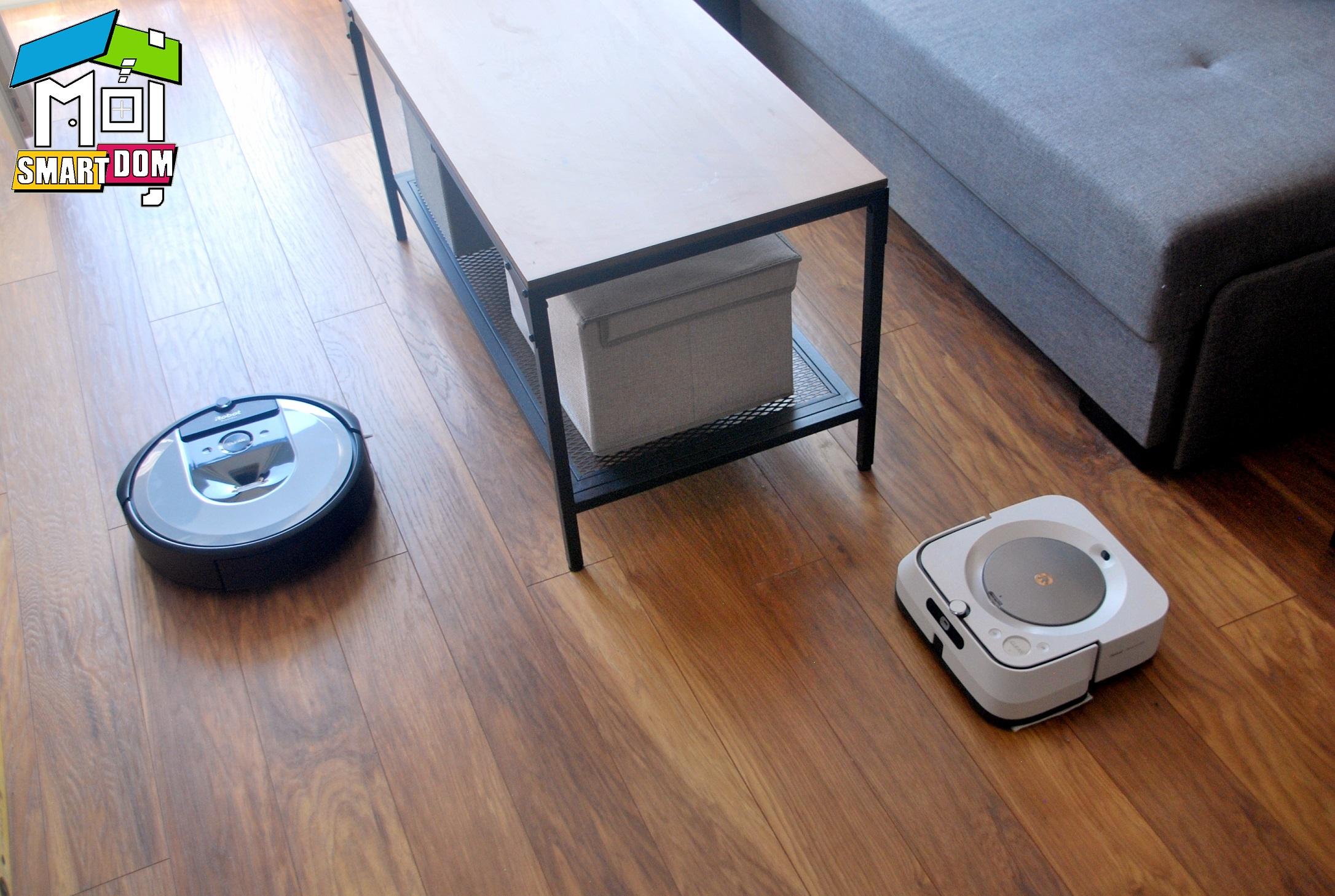 iRobot Roomba i7+ oraz Braava let m6