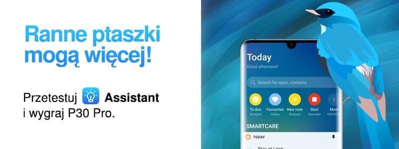 Asystent Huawei po polsku