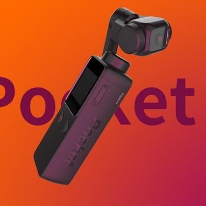 Capture Pocket kamerka akcji gimbal