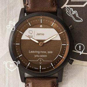hybrydowy smartwatch Fossil Hybrid HR
