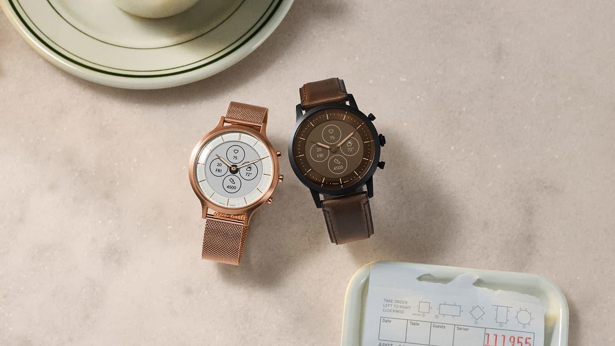 Fossil Hybrid HR e-tuszowy zegarek