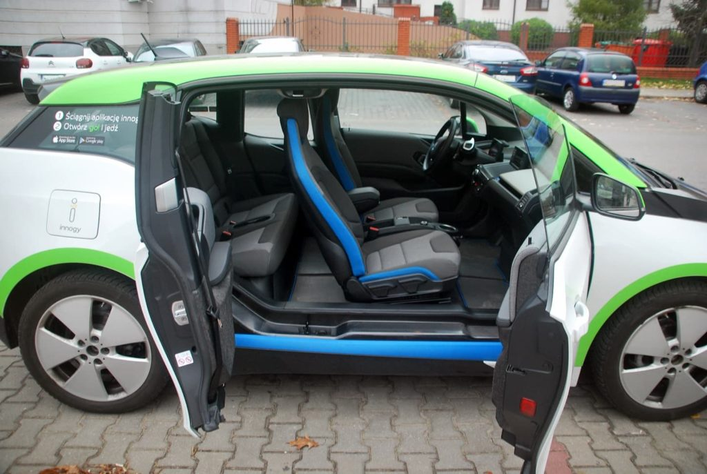 BMW i3 carsharing