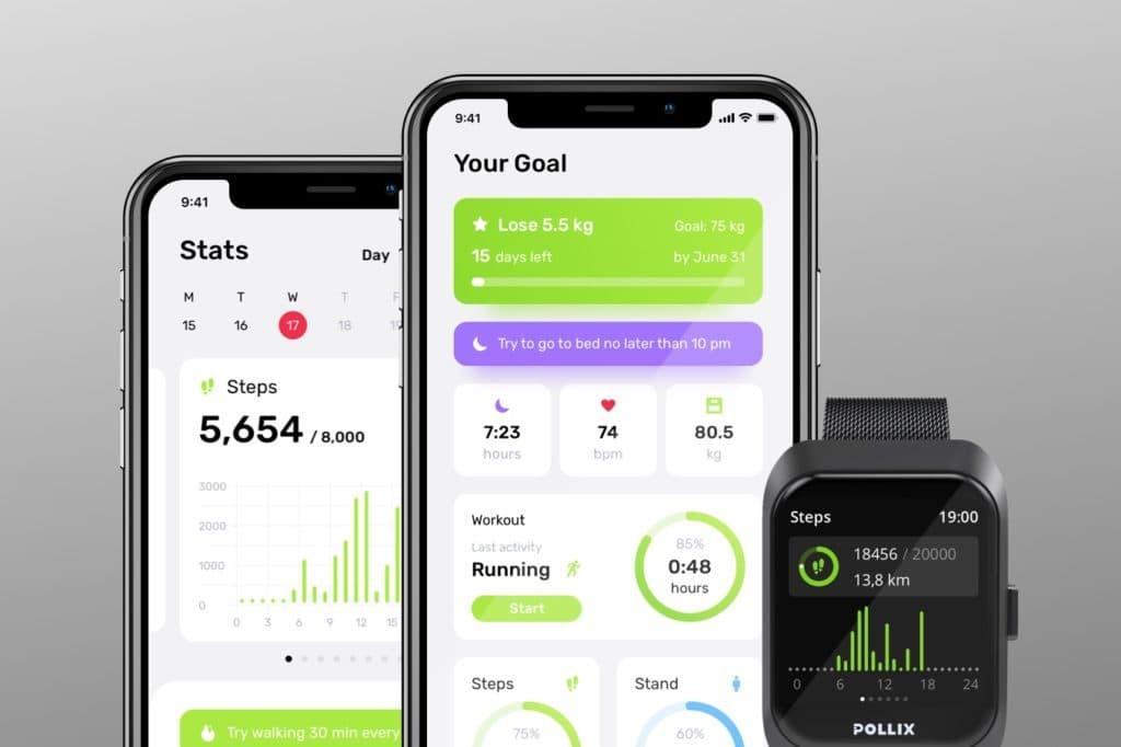 Pollix Smartwatch AI