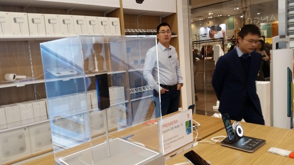 Xioami Mi Store Galeria Mokotów Tony Chen Mi MIX Alpha