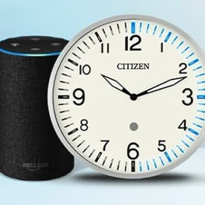 Citizen Smart Clock Alexa ico