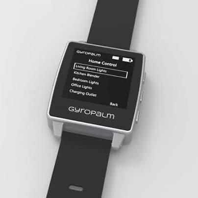 GyroPalm - gestowy smartwatch do kontroli IoT