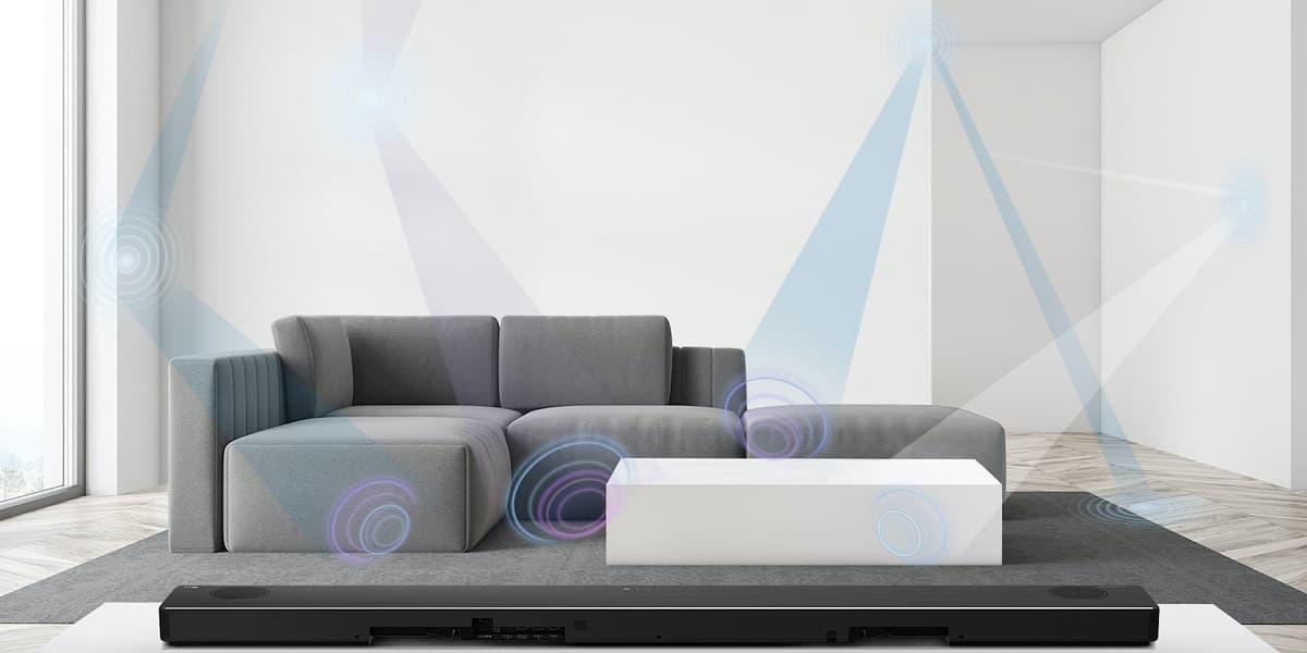 LGAI Room Calibration smart soundbar