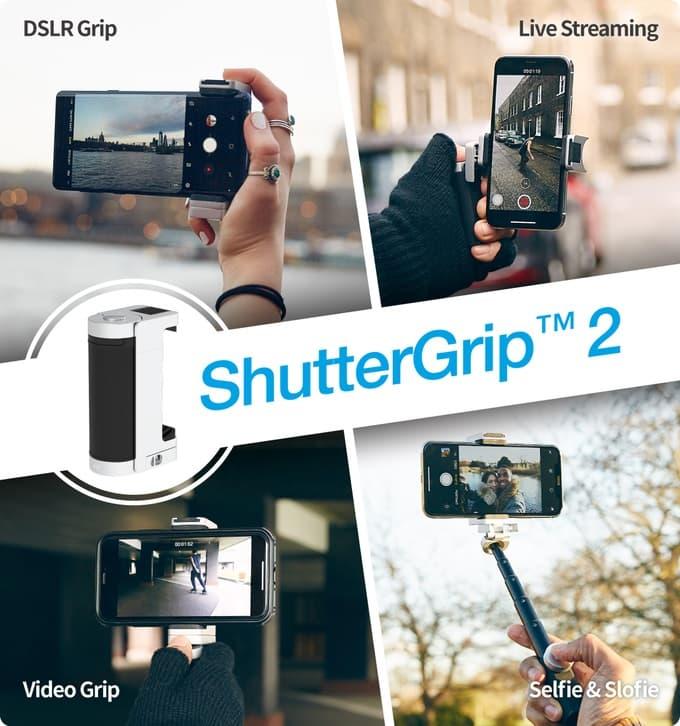 Shutter Grip 2 uchwyt fotograficzny do smartfona