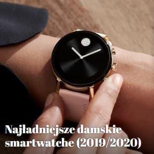 najładniejsze damskie smart zegarki 2020