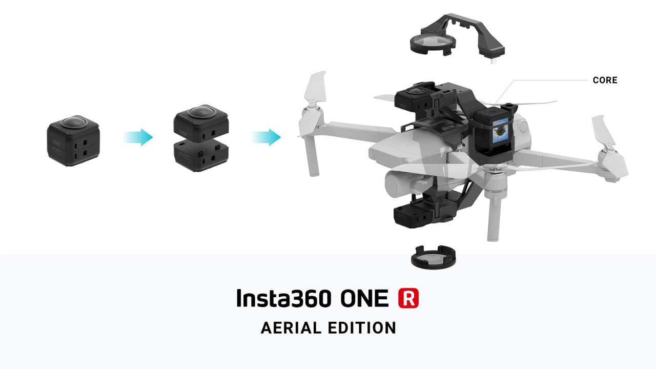Insta360 One R Aerial Edtion