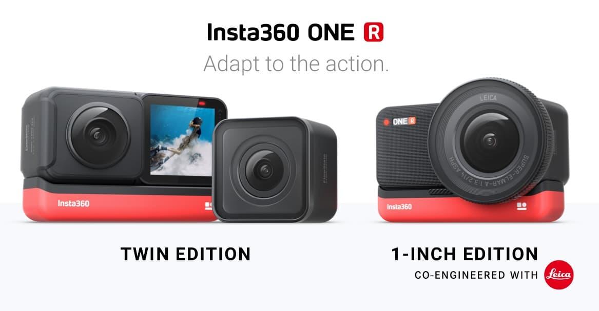 Insta360 One R modułowa kamerka akcji