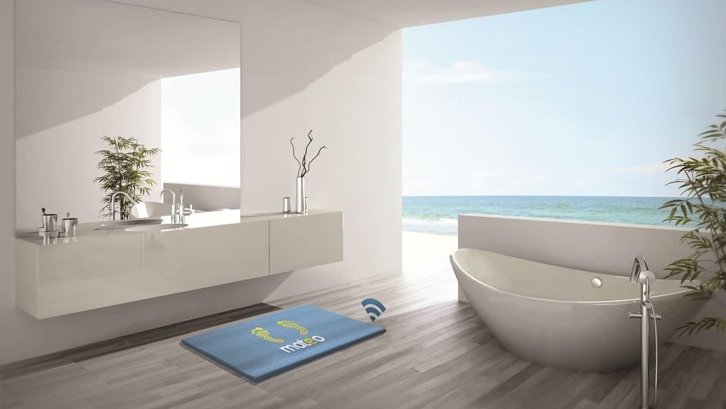 smart waga Mateo Smart Bathroom Mat