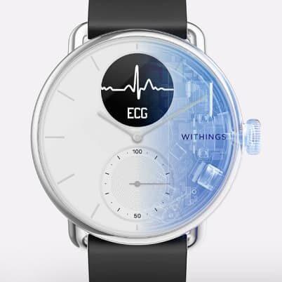 Withings ScanWatch analogowy smartwatch z EKG