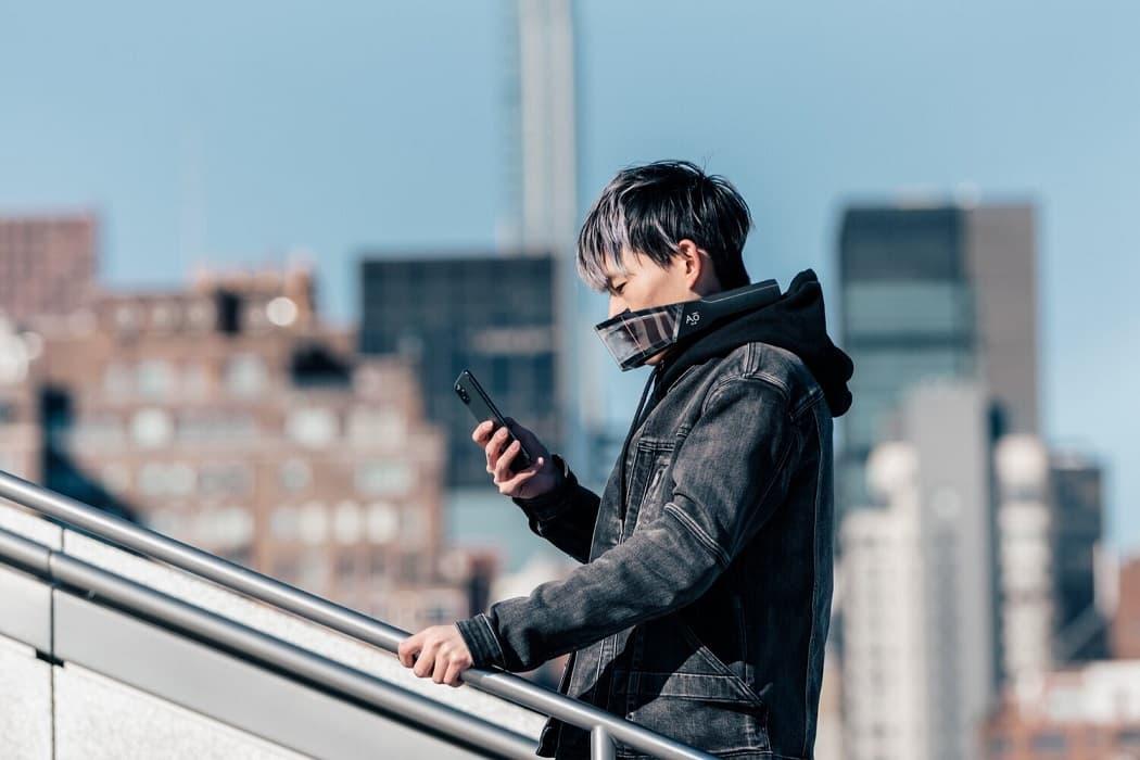 Atmos Facewear inteligentna maseczka na twarz Ao Air