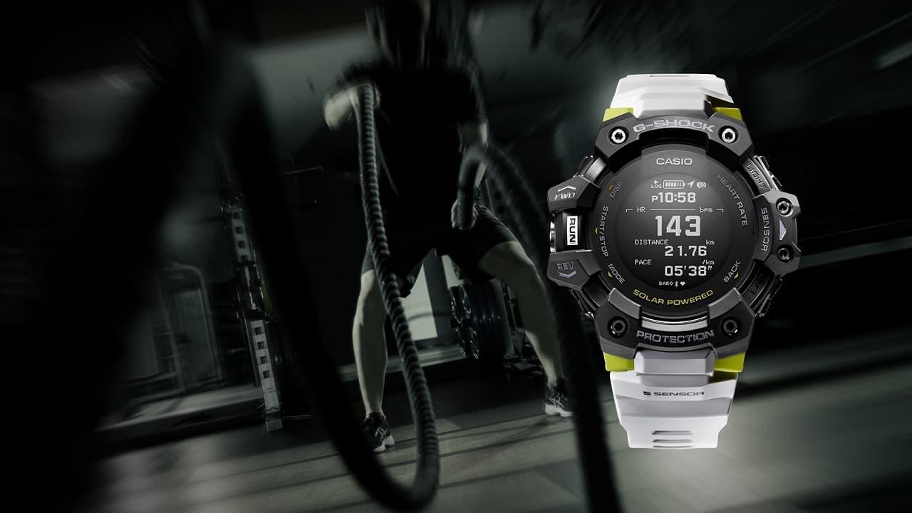 smartwatch Casio G-Shock GSQUAD GBD-H1000