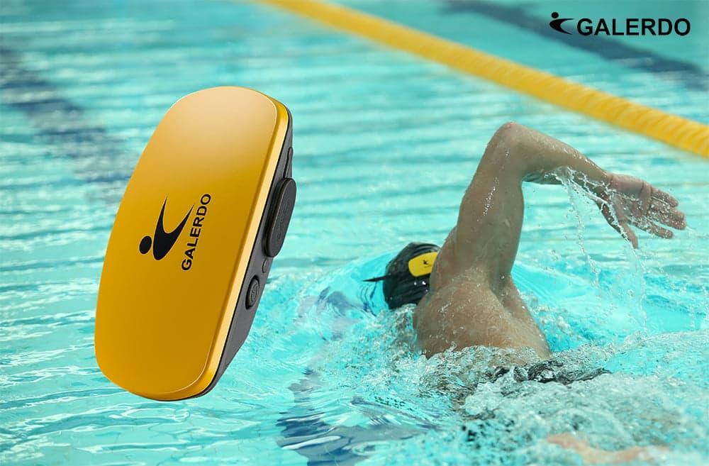 Galerdo Beker Pro tracker do pływania i audio wskazówki