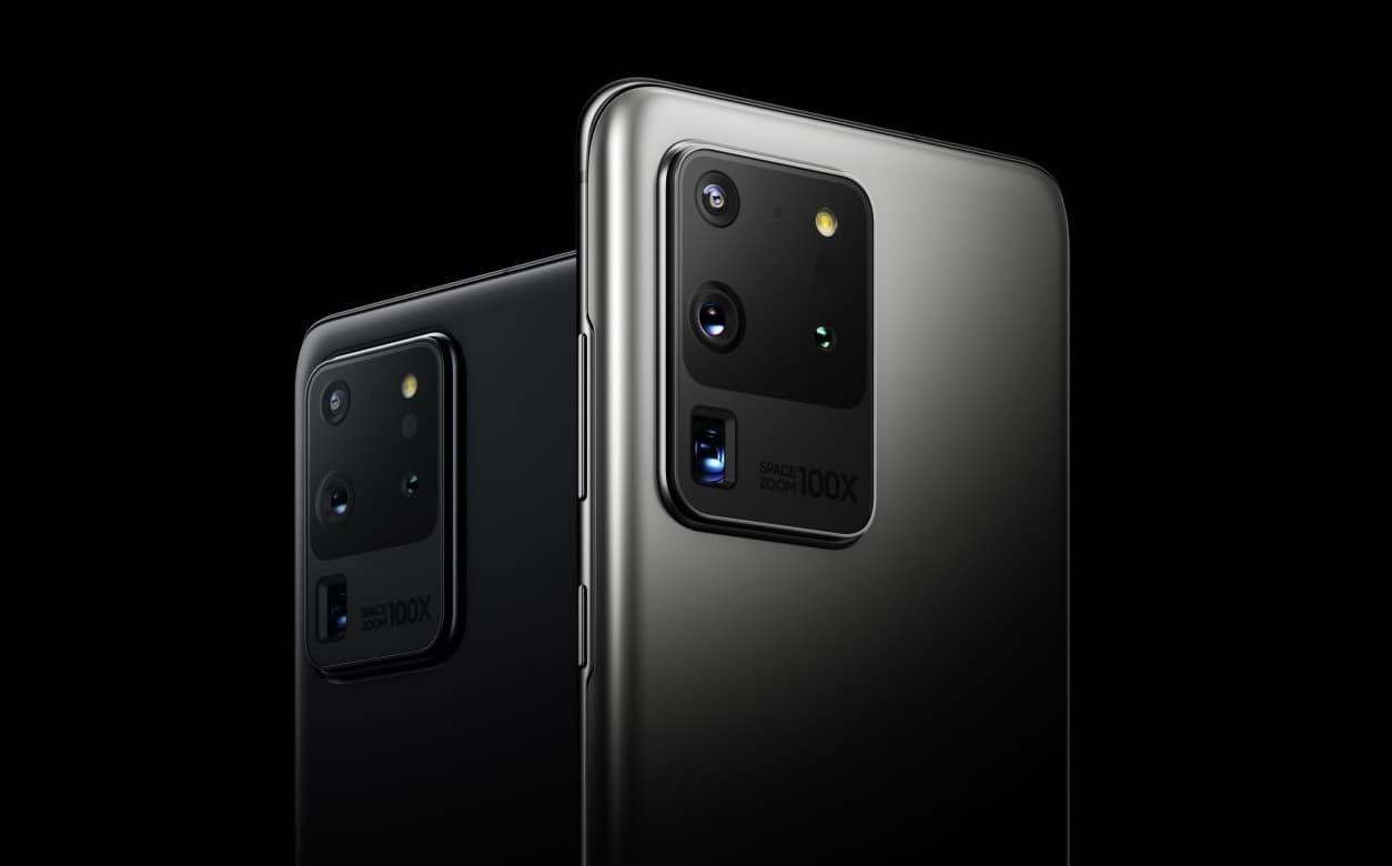 Galaxy S20 Ultra - 108 mpx i 100x