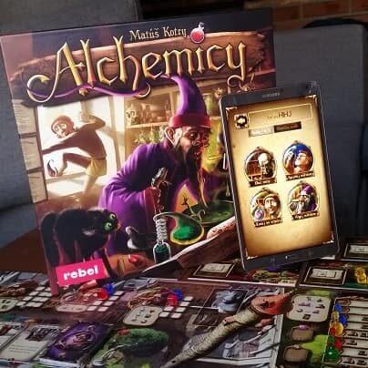 Alchemicy Rebel test gry planszowej