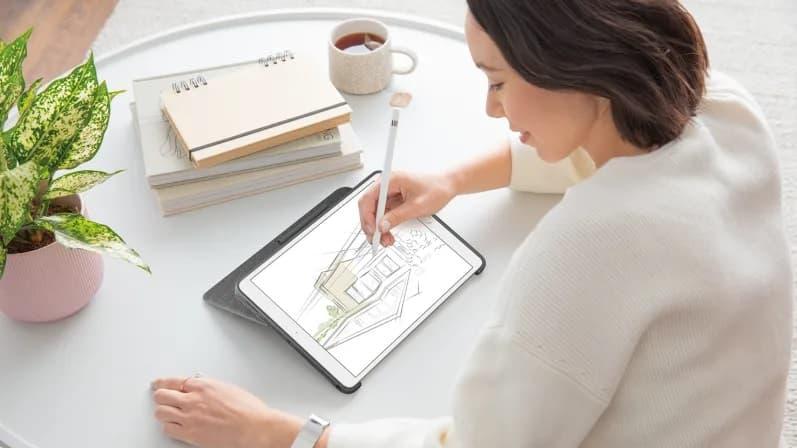 Logitech Combo Touch klawiatura z trackpadem do ipada