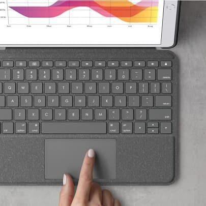 LogitechCombo Touch z gładzikiem dla iPada