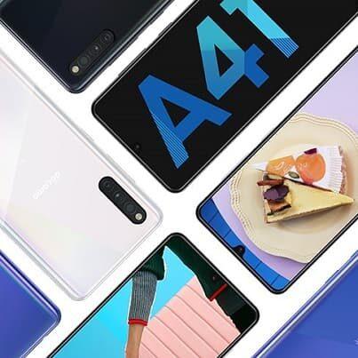 Samsung Galaxy A41 – 3 aparaty i skaner w ekranie