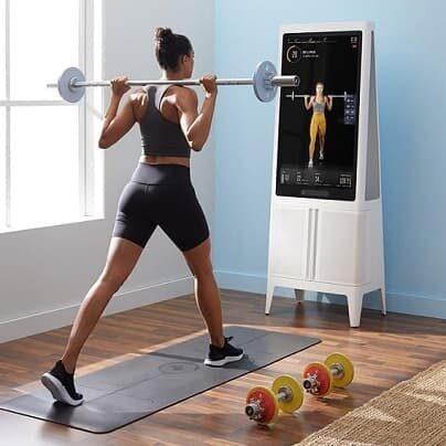 Tempo – domowa smart siłownia z widzeniem komputerowym