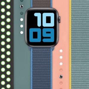 paski Apple Watch wiosna 2020
