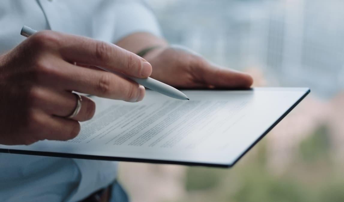 reMarkable 2 epapierowy notatnik z rysikiem